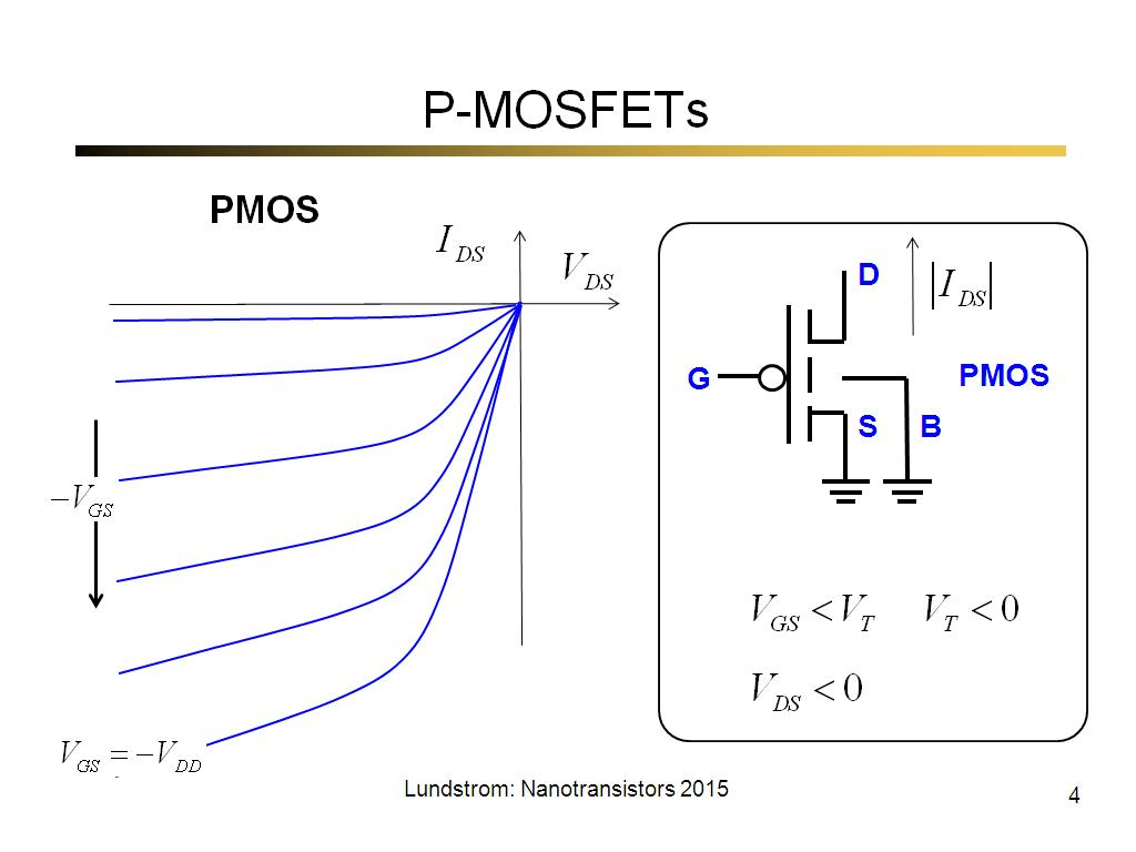 P-MOSFETs