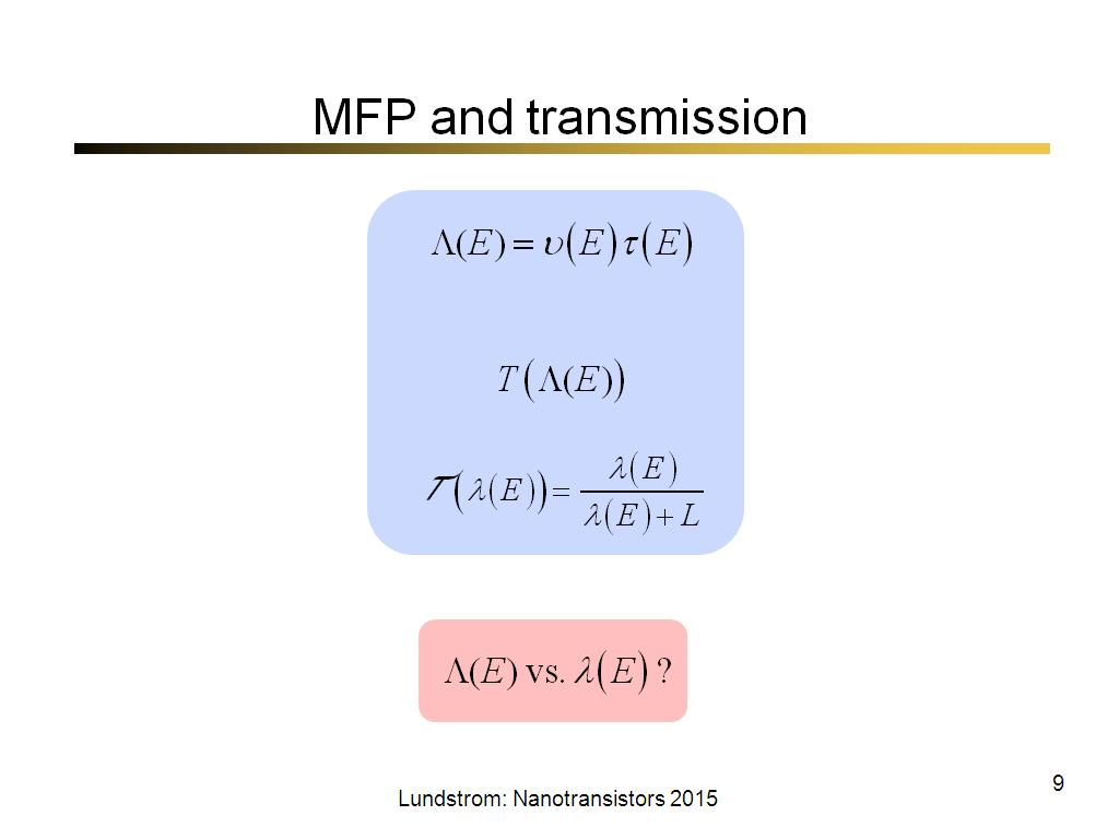 MFP and transmission