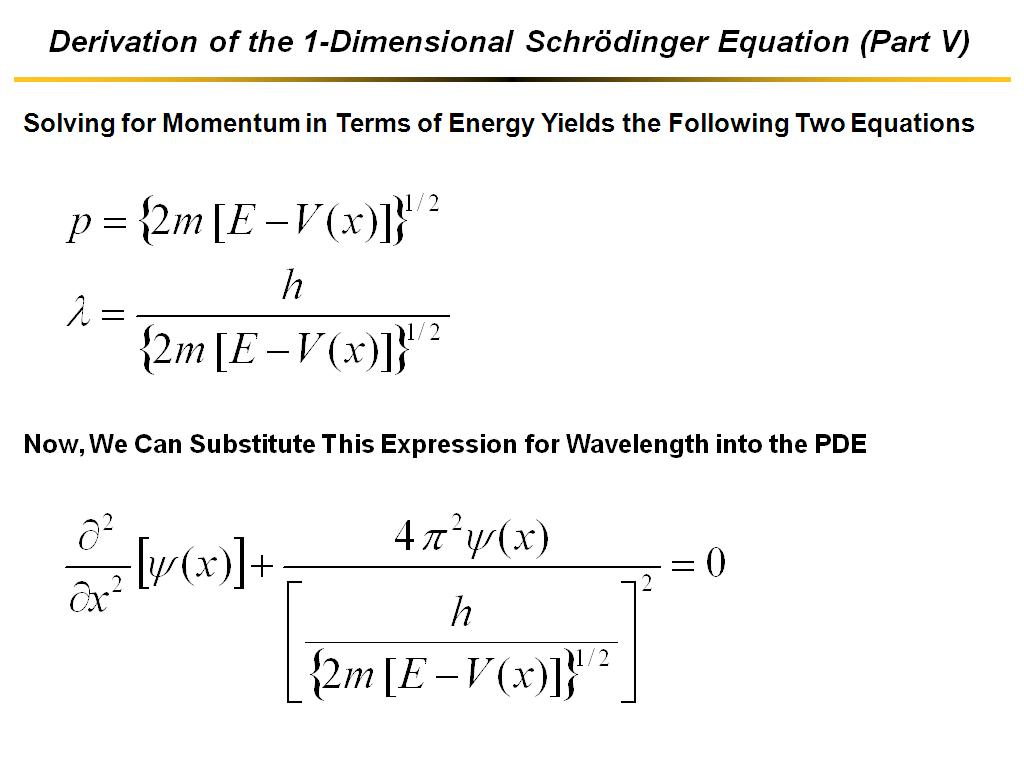 Nanohub courses nanohub u organic electronic devices 01a derivation of the 1 dimensional schrdinger equation part v biocorpaavc Images