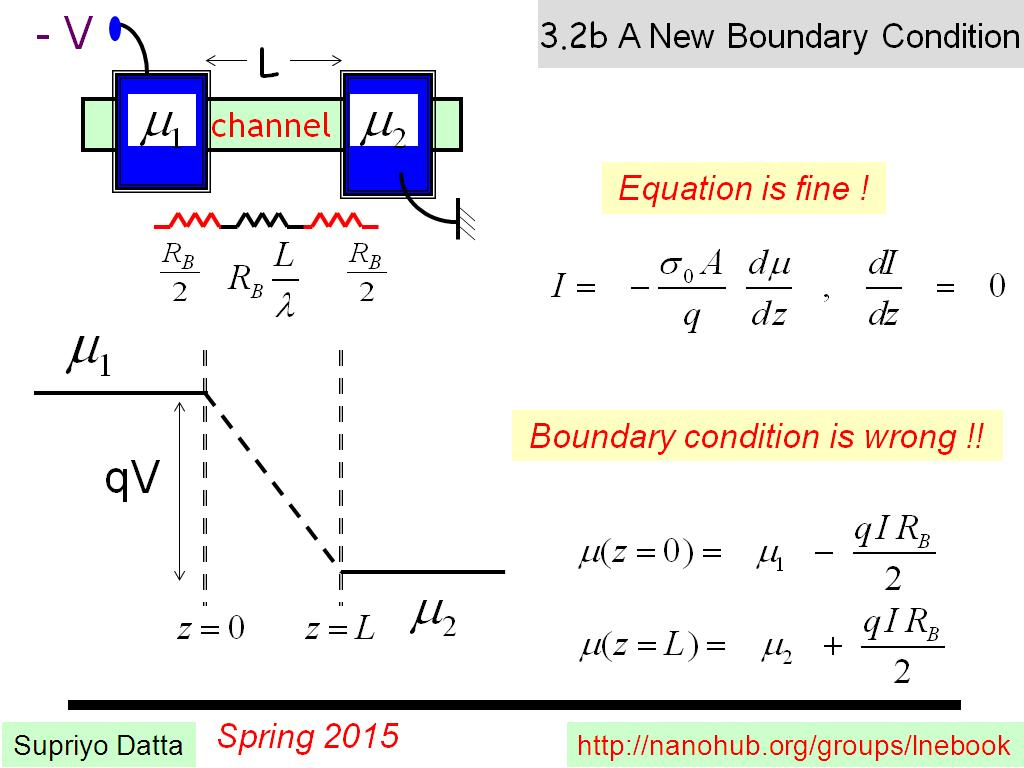 3.2b A New Boundary Condition