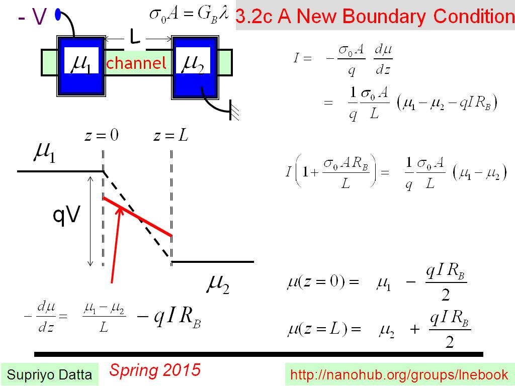 3.2c A New Boundary Condition