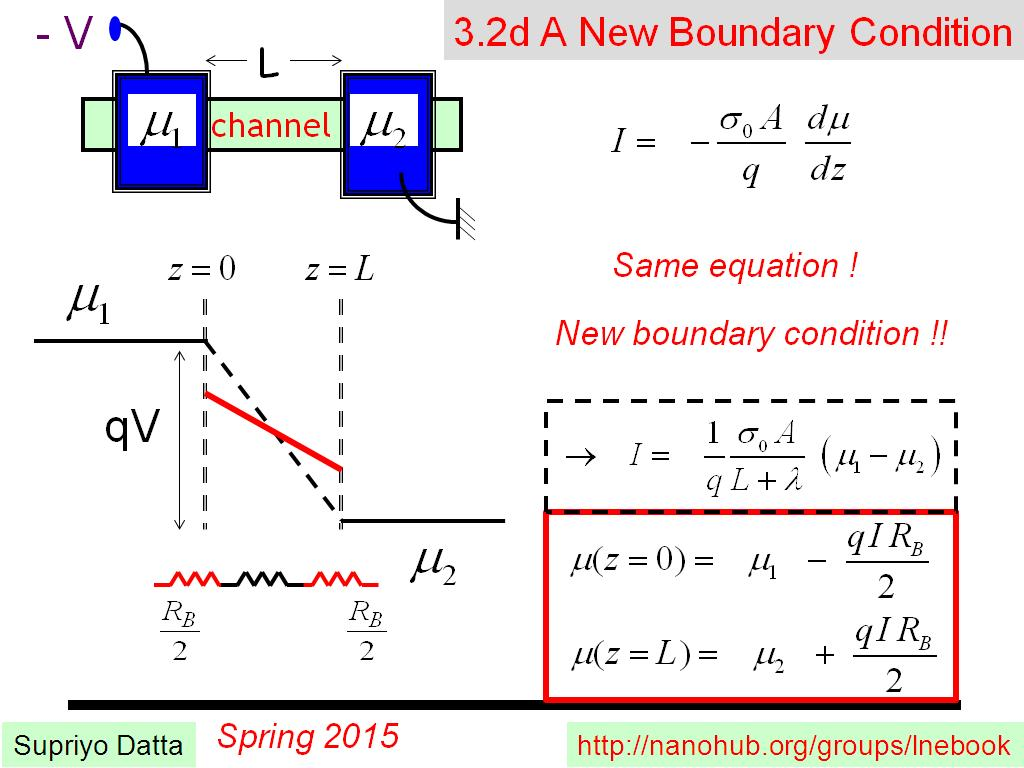3.2d A New Boundary Condition