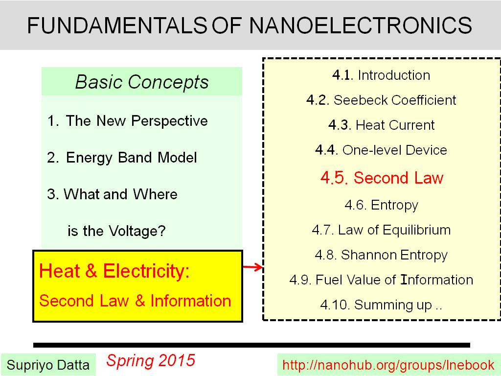 Lecture 4.5: Second Law