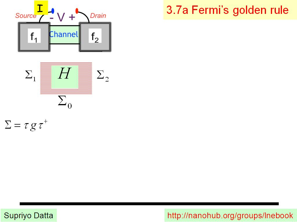 3.7a Fermi's golden rule