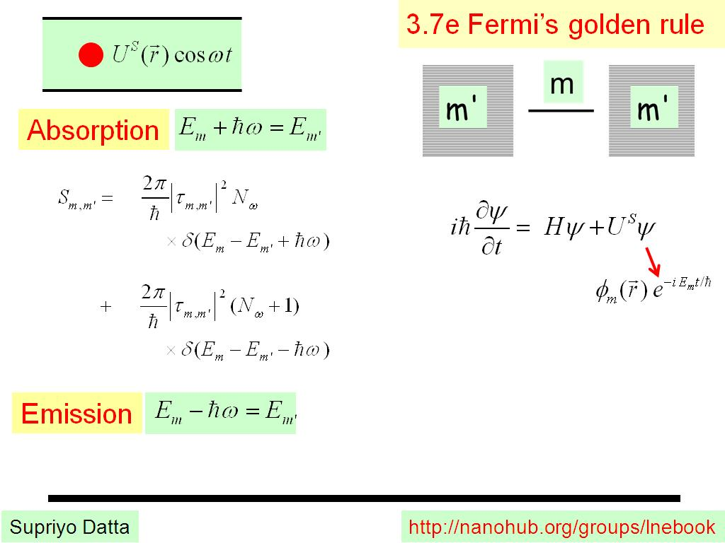 3.7e Fermi's golden rule