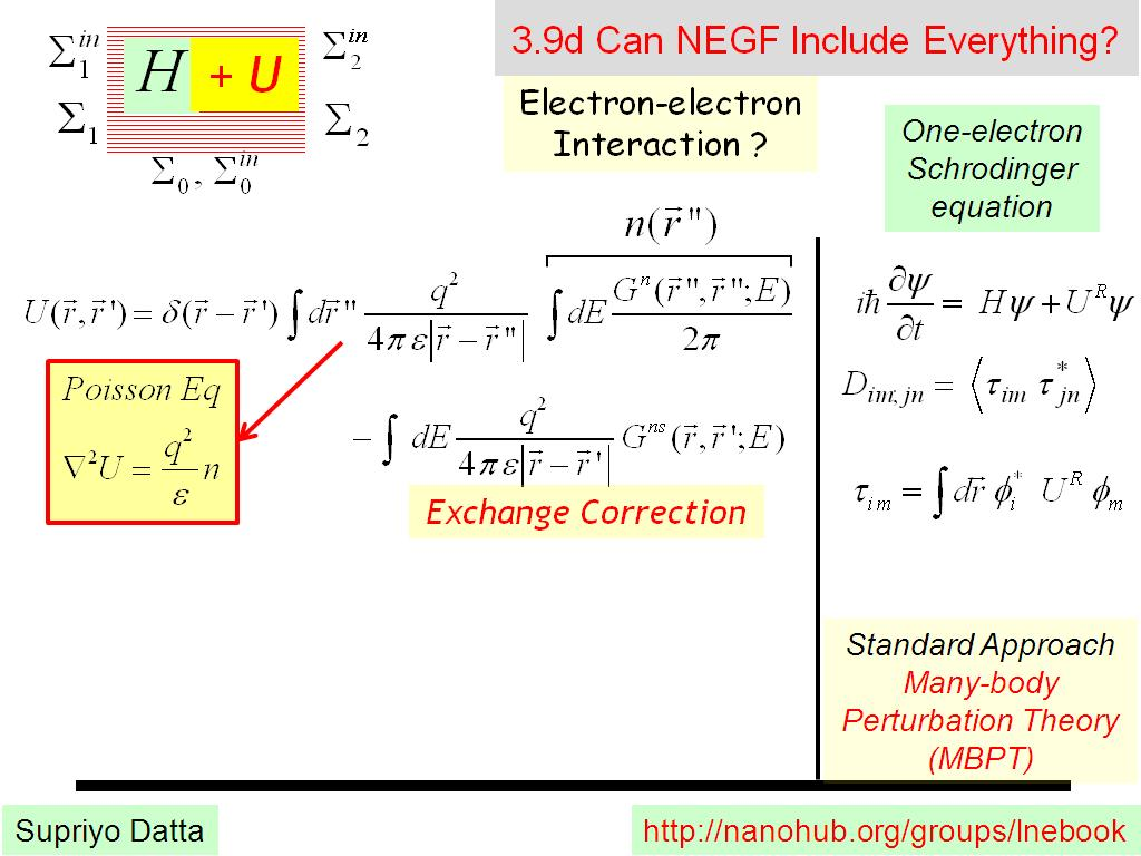 3.9d Can NEGF Include Everything?
