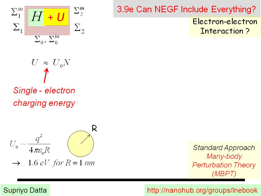 3.9e Can NEGF Include Everything?