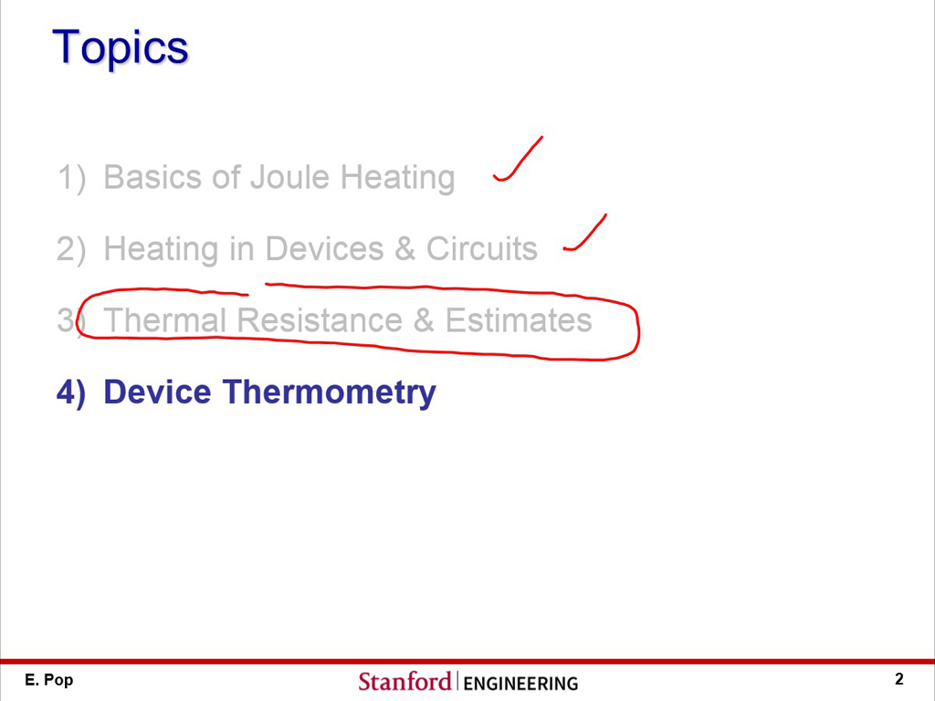 nanoHUB org - Courses: nanoHUB-U: Thermal Resistance in