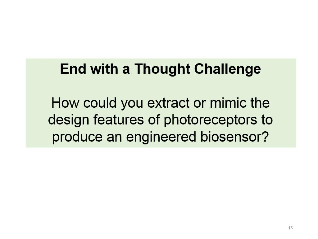 End with a Thought Challenge