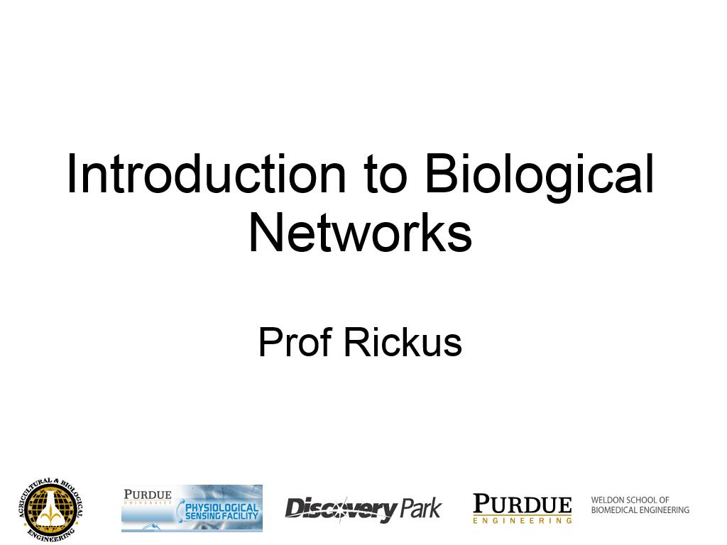 L2.4: Introduction to Biological Networks