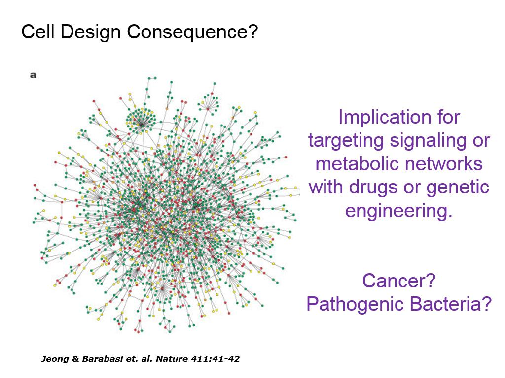 Cell Design Consequence?