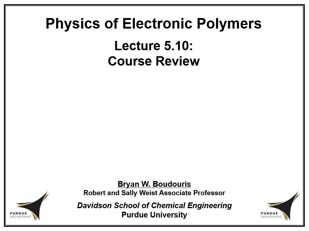Lecture 5.10: Course Review