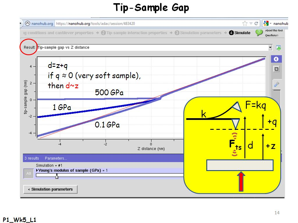 Tip-Sample Gap