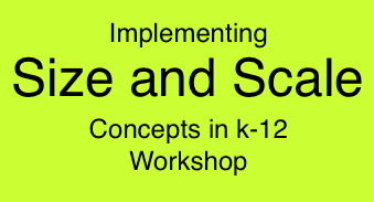 Size and Scale Workshop (K-12) group image