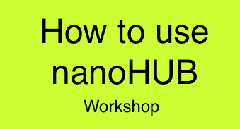 ASEE 2014 nanoHUB Workshop Logo