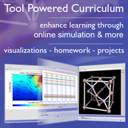 Tool-Powered Curricula / Simulation-Powered Curricula Logo