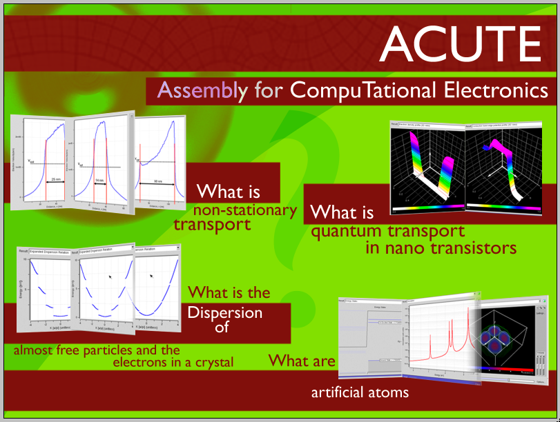 ACUTE - Assembly for Computational Electronics Logo