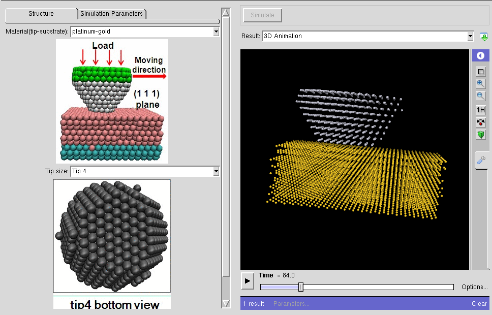 nanoHUB org - Resources: Atomic Stick-Slip