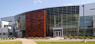 West Entry: Birck Nanotechnology Center, Purdue University