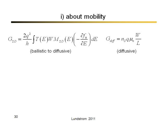 i) about mobility