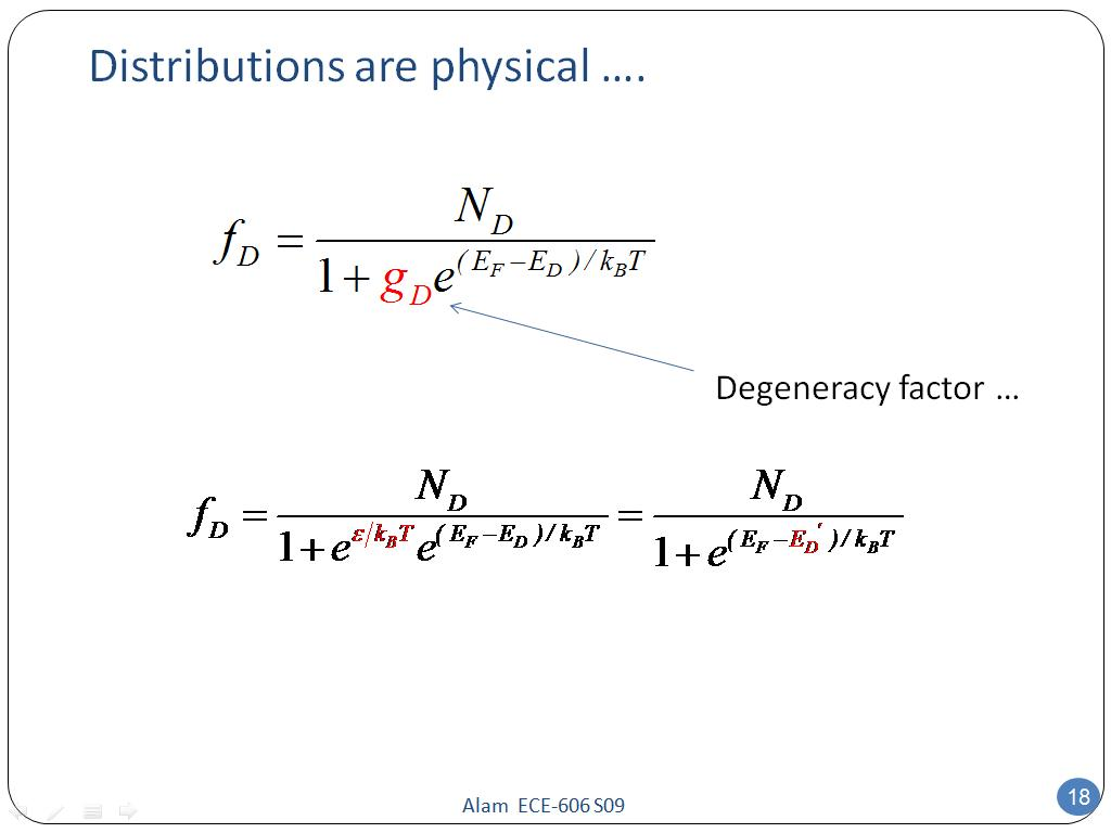 Distributions are physical ….