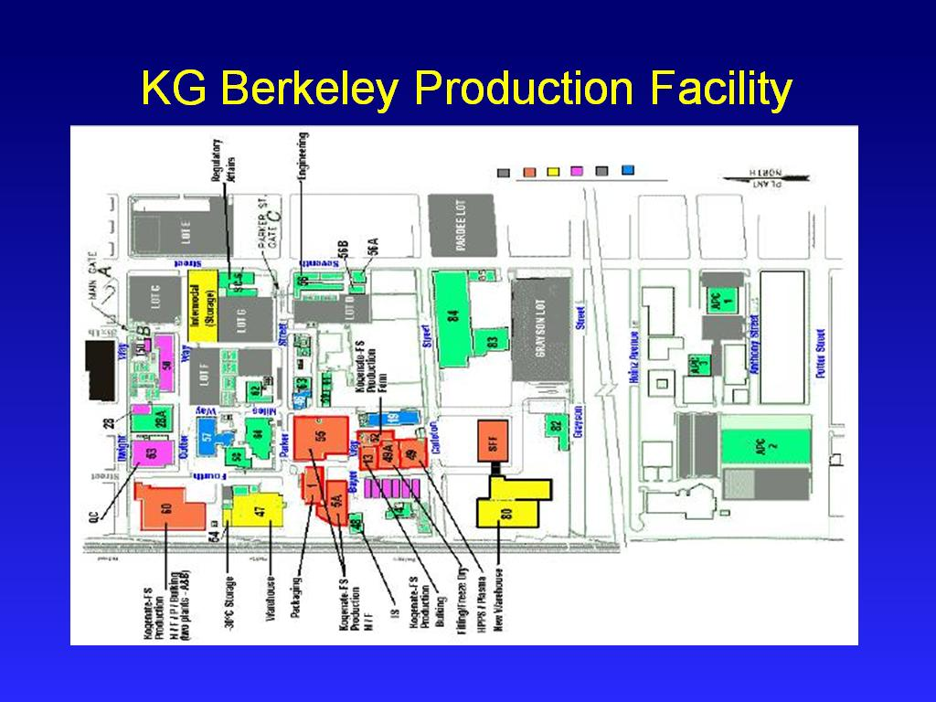 KG Berkeley Production Facility