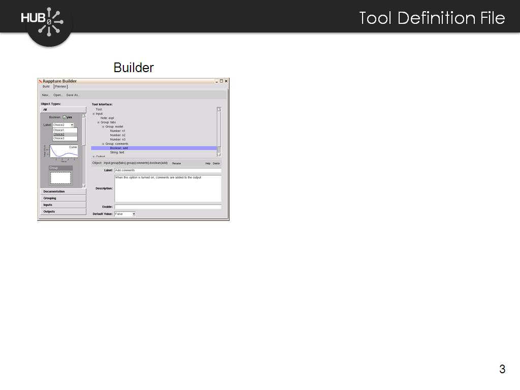 Tool Definition File