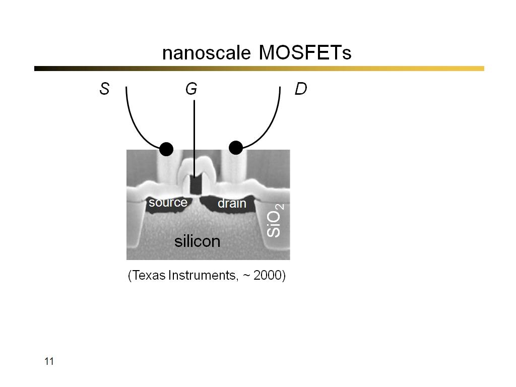 nanoscale MOSFETs