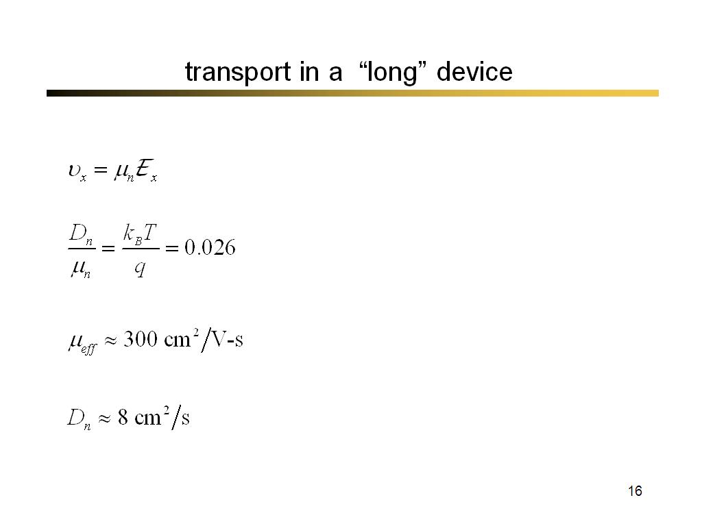 transport in a