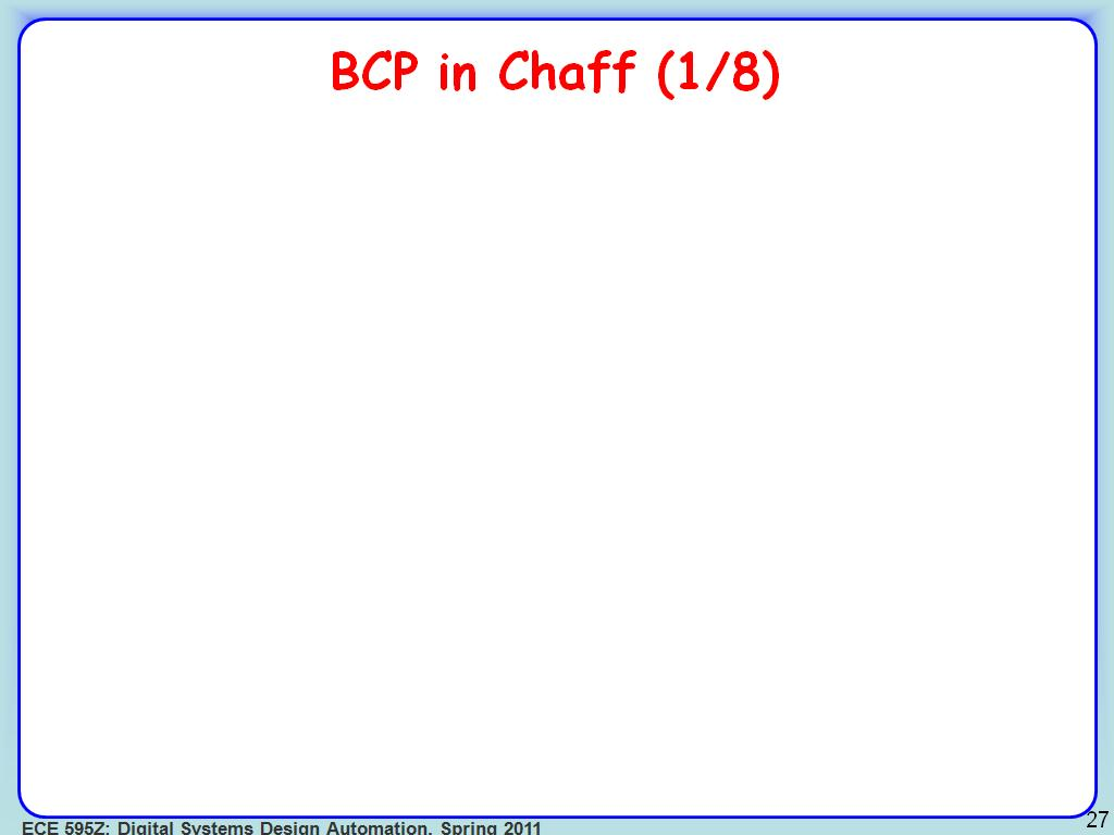 BCP in Chaff (1/8)
