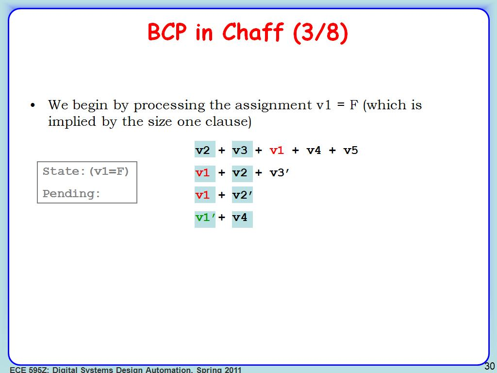 BCP in Chaff (3/8)