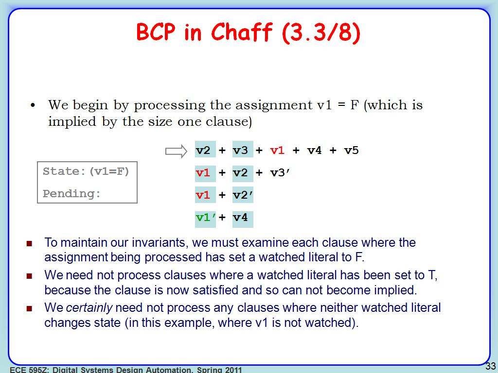 BCP in Chaff (3.3/8)