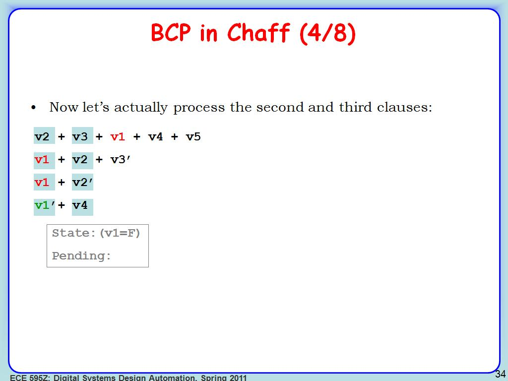 BCP in Chaff (4/8)