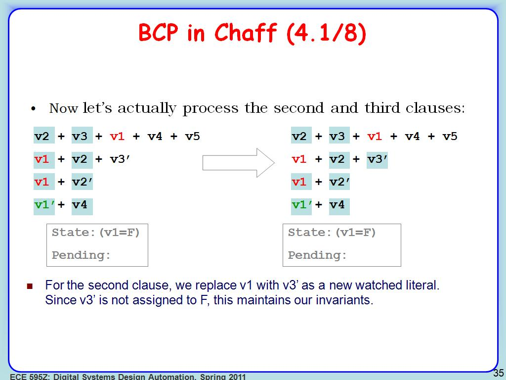 BCP in Chaff (4.1/8)