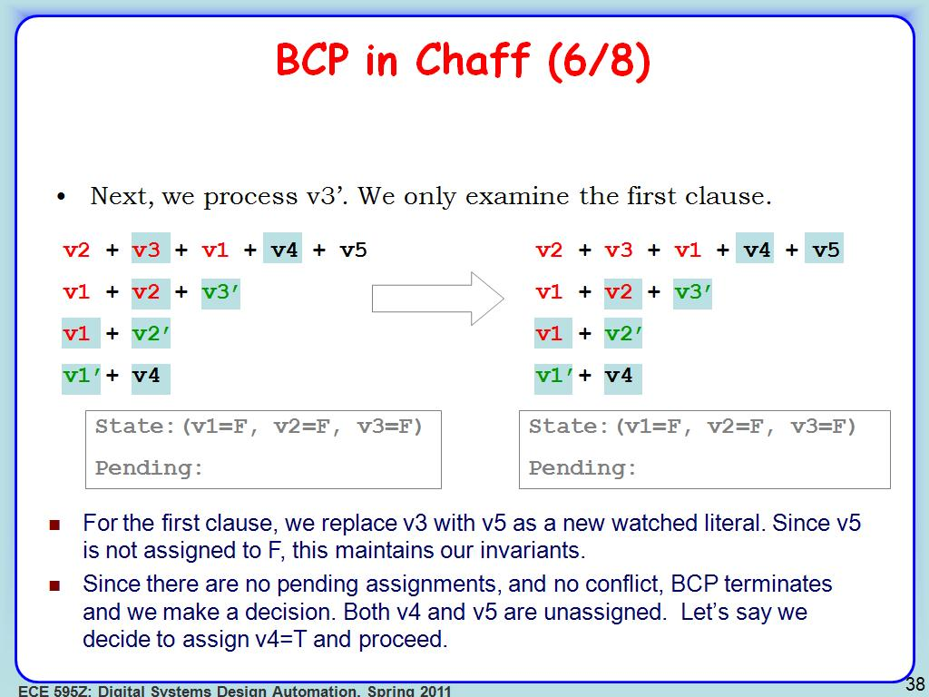 BCP in Chaff (6/8)