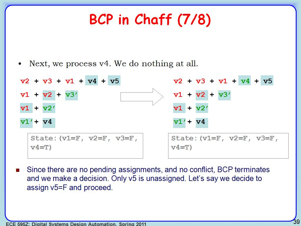 BCP in Chaff (7/8)