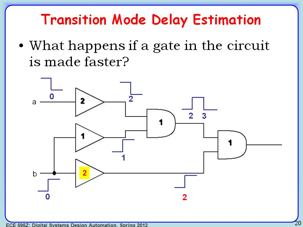 nanoHUB org - Resources: ECE 595Z Lecture 23: Timing