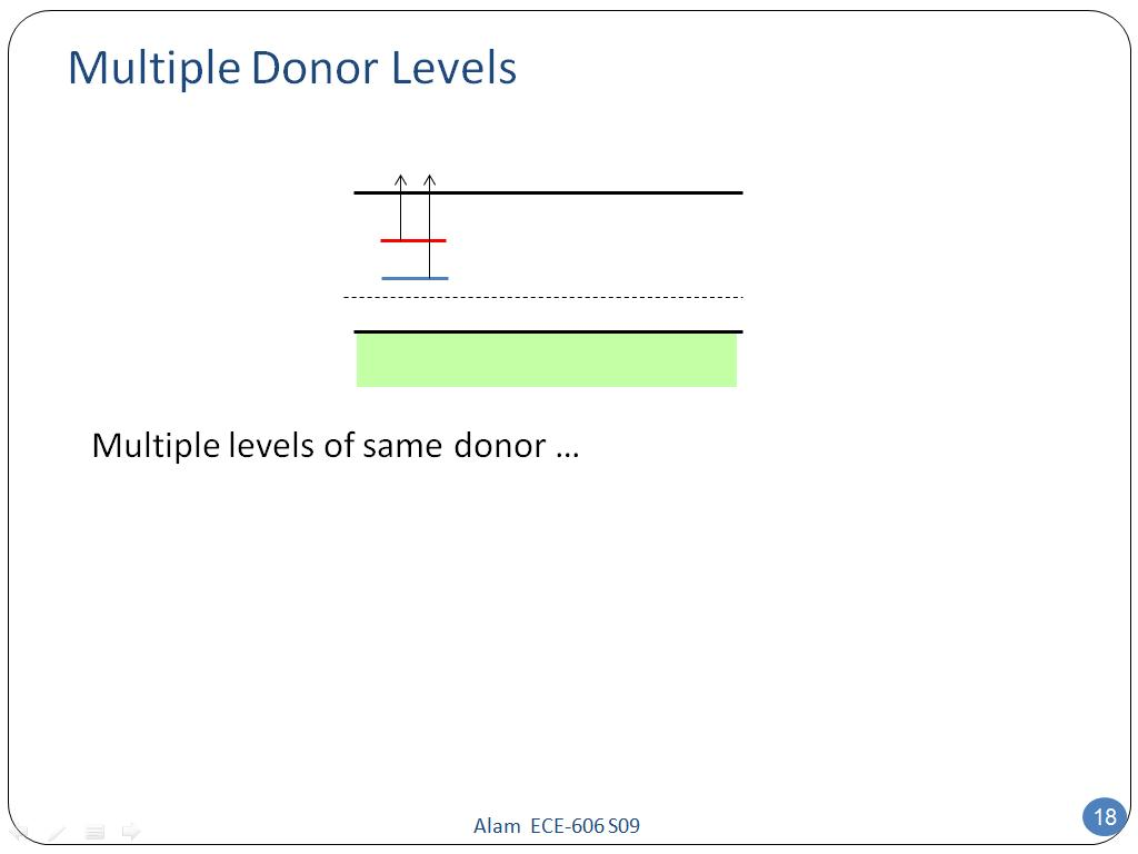 Multiple Donor Levels