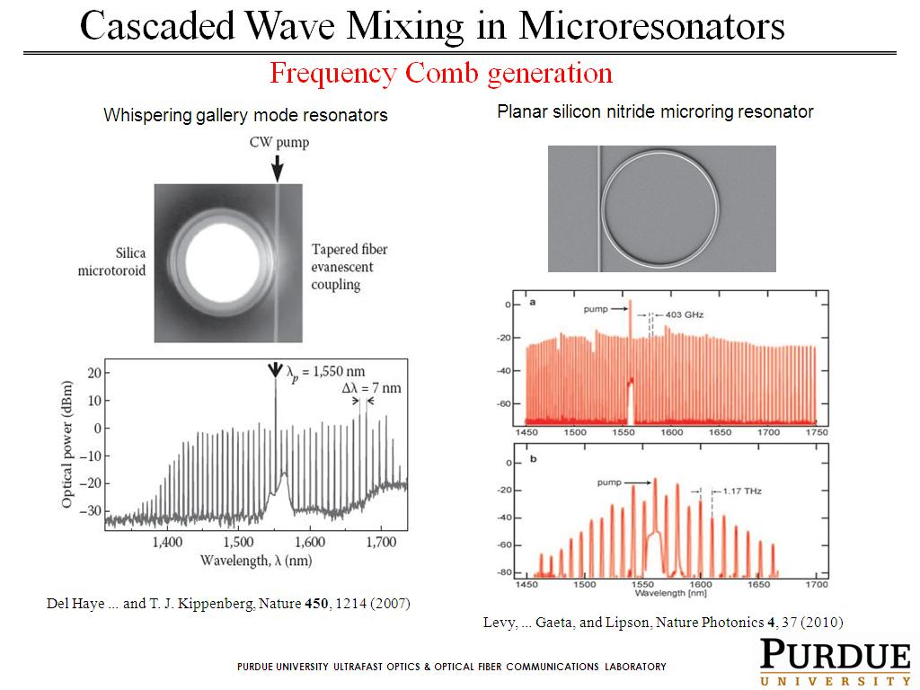 Cascaded Wave Mixing in Microresonators