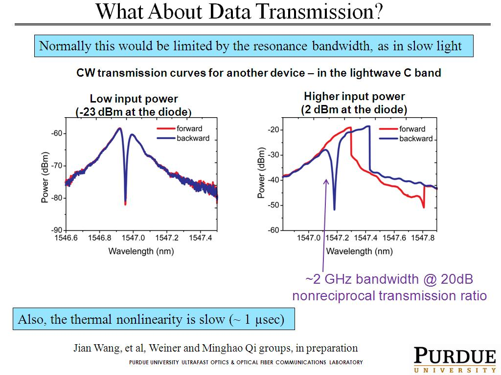 What About Data Transmission?