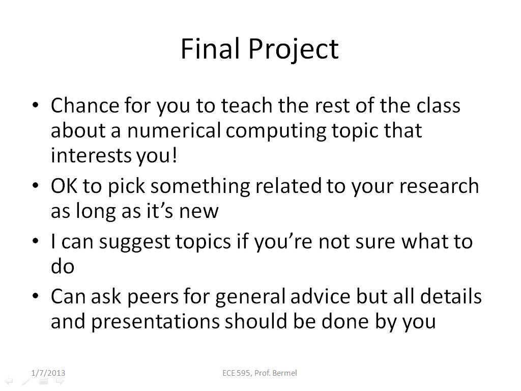 nanohub org resources ece 595e lecture 1 introduction to final project 00 48 47