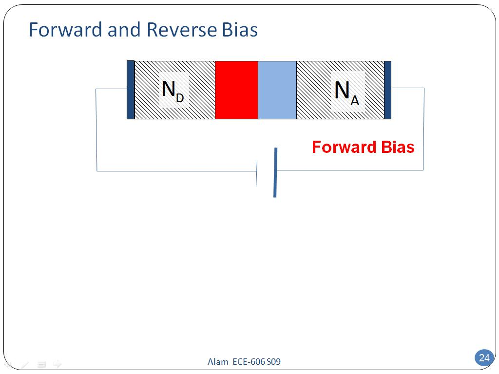 Forward and Reverse Bias