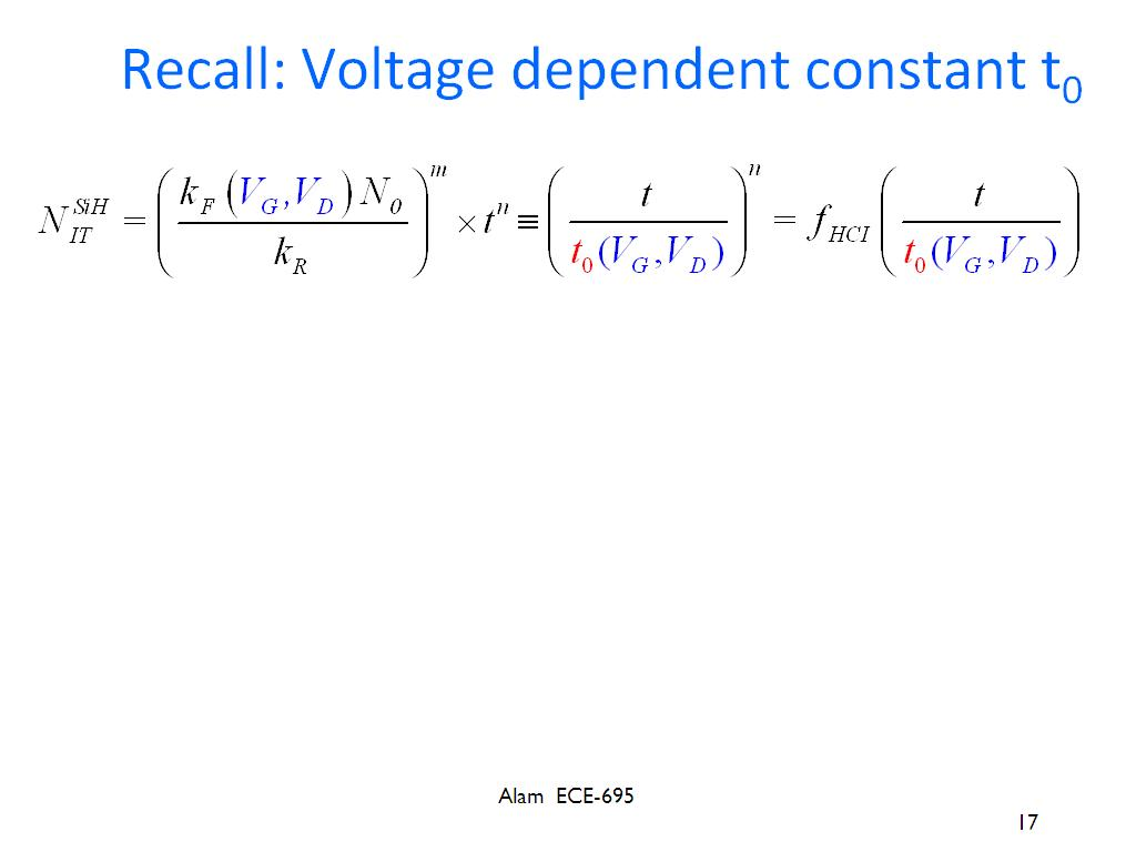 Resources Ece 695a Lecture 15 Off State Hci Basic Dc Theory 7 The Electricians Hangout Recall Voltage Dependent Constant T0
