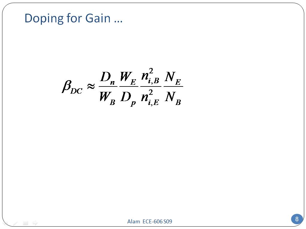 Doping for Gain …