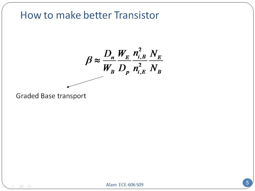 How to make better Transistor