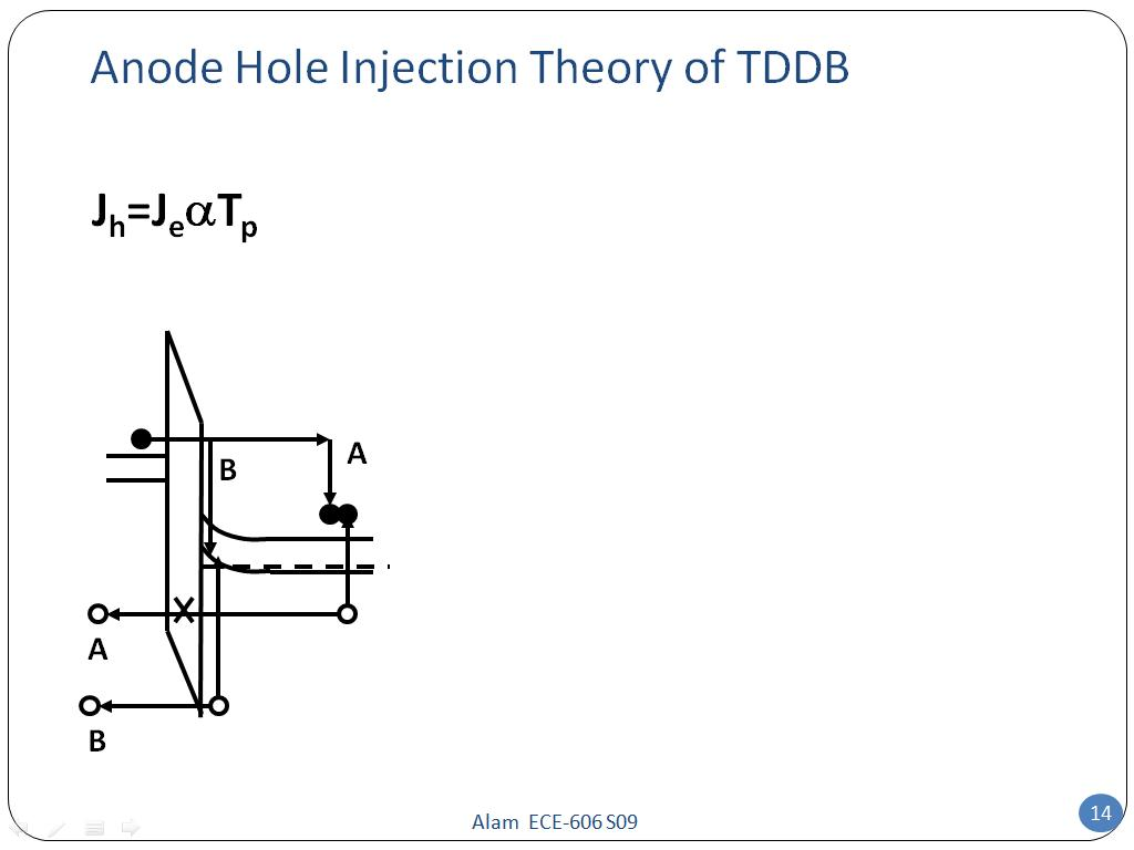 Anode Hole Injection Theory of TDDB