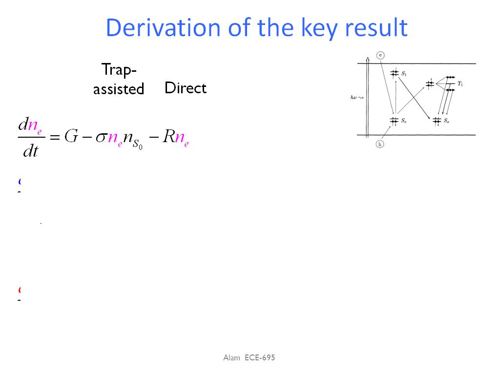 Derivation of the key result