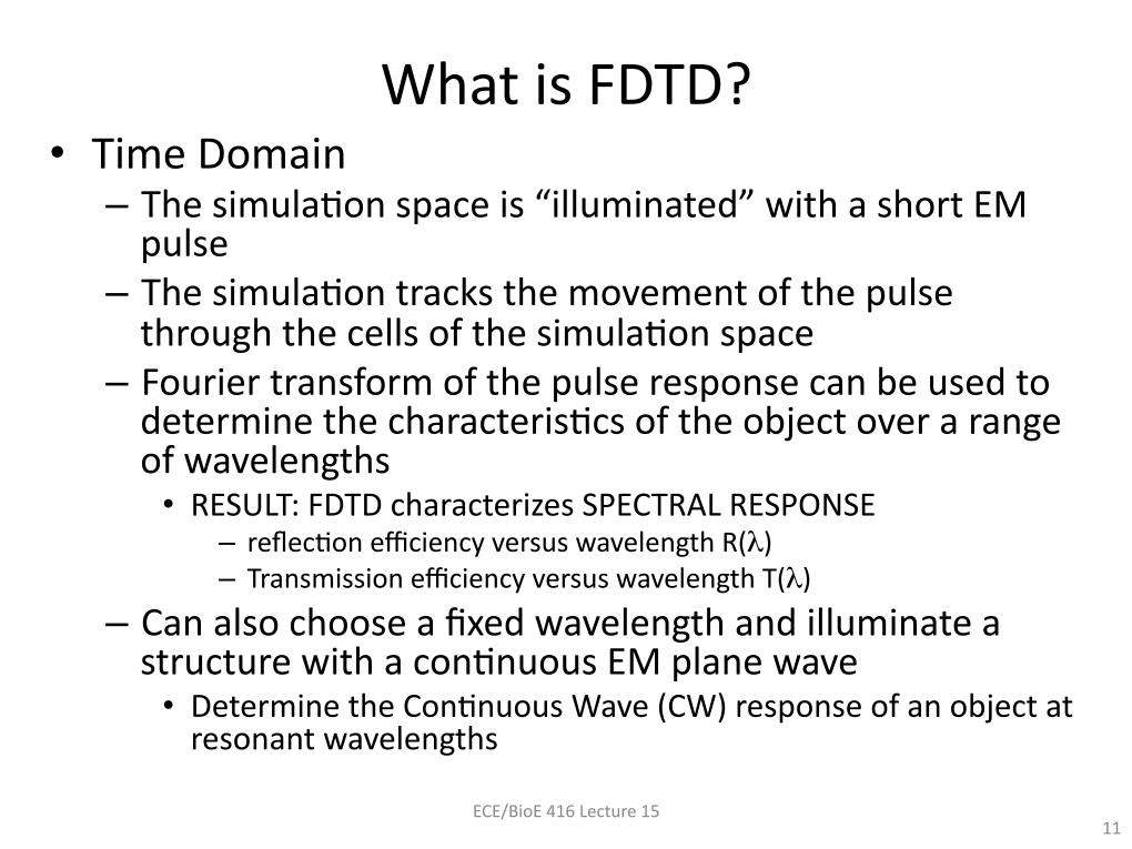 What is FDTD?