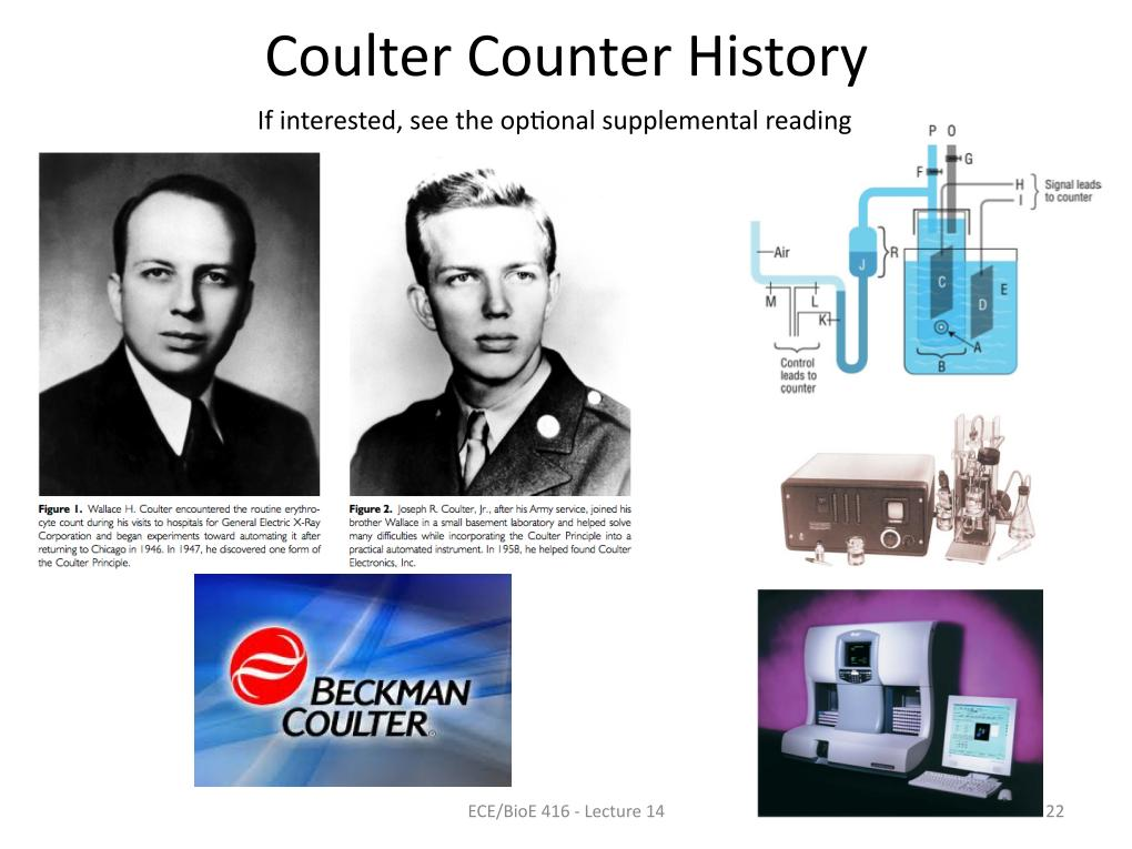 Coulter Counter History