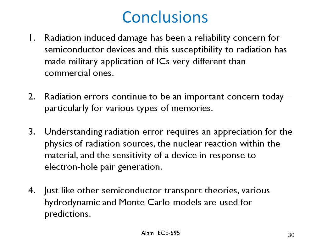 nanoHUB org - Resources: ECE 695A Lecture 37: Radiation